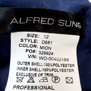 ALFRED SUNG Dresses - Alfred Sung D681  SZ 12 Prom/Formal/ Bridesmaids